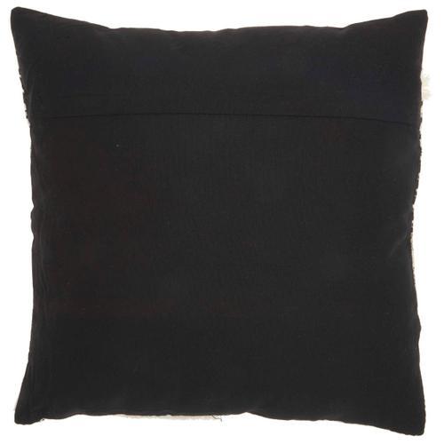 """Life Styles Ns835 Black/white 18"""" X 18"""" Throw Pillow"""
