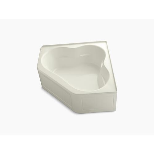 "Biscuit 60"" X 60"" Bath With Integral Apron and Integral Flange and Center Drain"