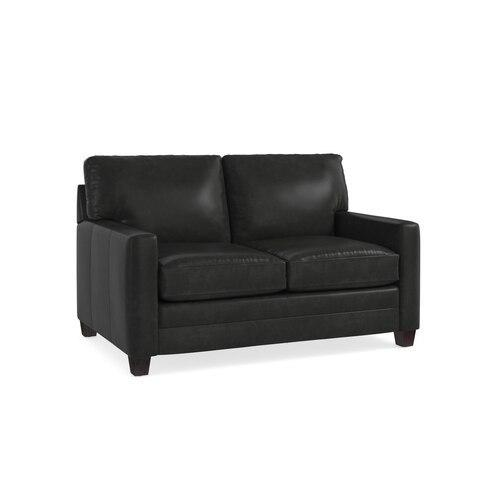 Ladson Leather Loveseat