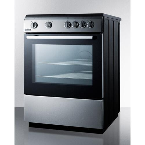 "24"" Wide Smooth Top Electric Range"