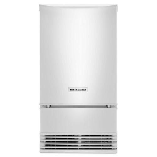 KitchenAid - KitchenAid® 18'' Automatic Ice Maker White