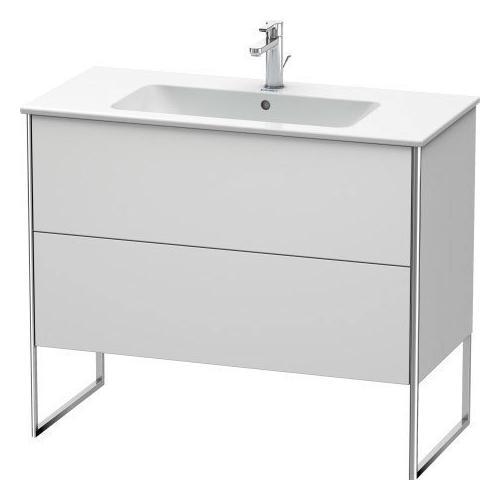 Duravit - Vanity Unit Floorstanding, White Satin Matte (lacquer)