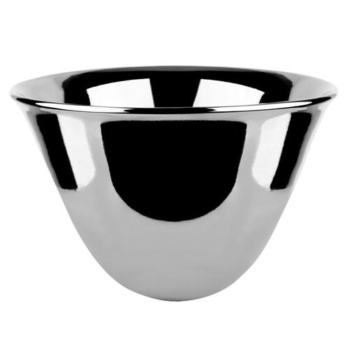 """Counter washbasin in Bright Platinum Gres without overflow waste 11-13/16"""" HIGH X 19-11/16"""" DIAMETER Drain sold separately - s ee 29048Please contact Gessi North America for freight termsNot certified for use in North America"""