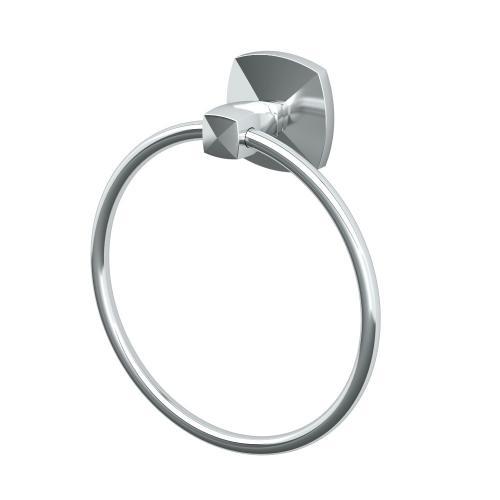 Jewel Towel Ring in Chrome