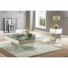 ACME Meria Coffee Table - 80270 - Mirrored