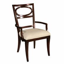 2-3124 Central Park Oval Back Arm Chair