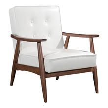 See Details - Rocky Arm Chair White