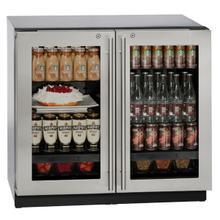 "36"" Refrigerator With Stainless Frame Finish (115 V/60 Hz Volts /60 Hz Hz)"