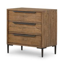 Wyeth 3 Drawer Dresser-rustic Sandalwood