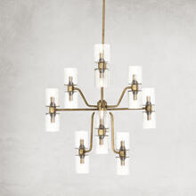 Holborn Chandelier-antique Brass
