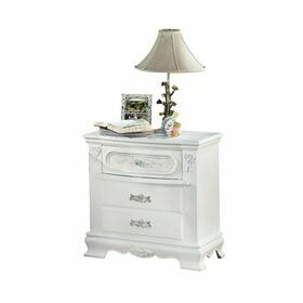 ACME Flora Nightstand - 01663 - White