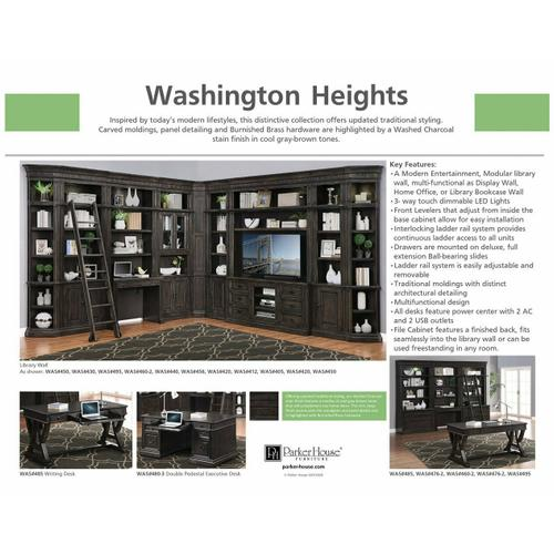WASHINGTON HEIGHTS Outside Corner Bookcase