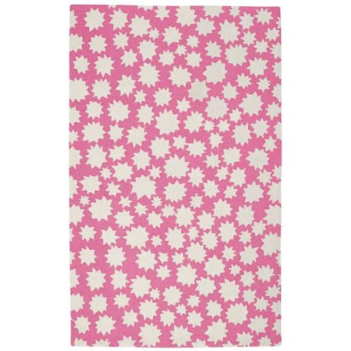 "Gallery - Stars Bubblegum - Rectangle - 3'6"" x 5'6"""