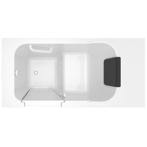 American Standard - Gelcoat Premium Series 28x48-inch Walk-in Bathtub  Soaking Tub  American Standard - White