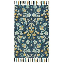 Gypsy-Lonar Copen Blue Hand Tufted Rugs