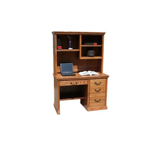 """O-T600 Traditional Oak 45"""" 3-Drawer Junior Computer Desk"""