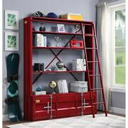 ACME Cargo Bookshelf & Ladder - 39897 - Red Product Image