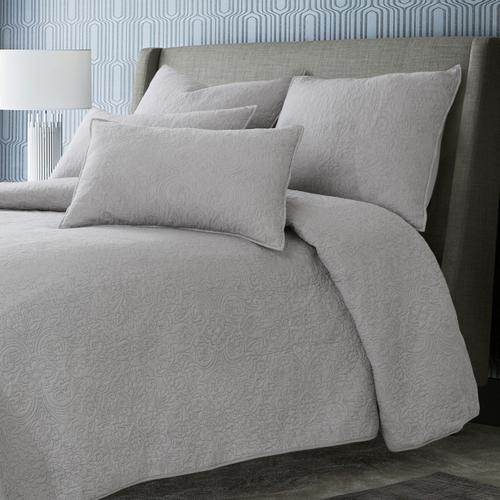 Bayberry 6pc King Duvet Set Dove
