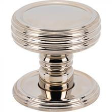 View Product - Divina Knob 1 1/2 Inch Polished Nickel Polished Nickel