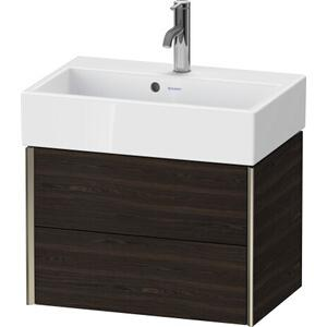 Duravit - Vanity Unit Wall-mounted Compact, Brushed Walnut (real Wood Veneer)