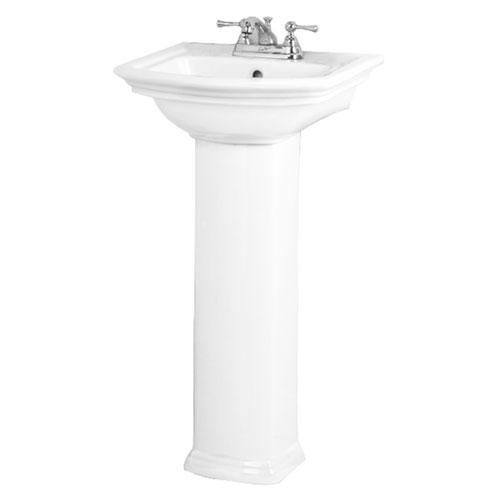 "Washington 460 Pedestal Lavatory - 8"" Widespread"