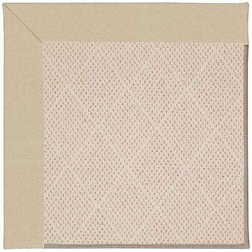 Creative Concepts-White Wicker Canvas Antique Beig Machine Tufted Rugs