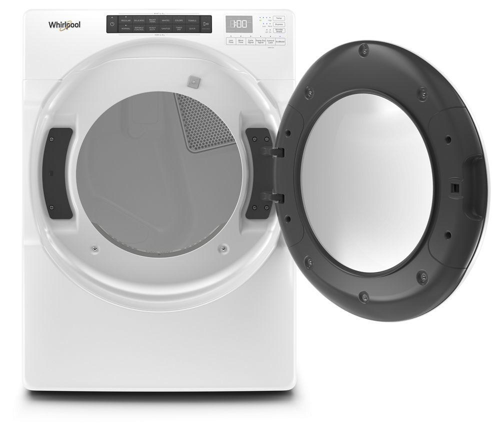 7.4 cu. ft. Front Load Electric Dryer with Intuitive Touch Controls Photo #2