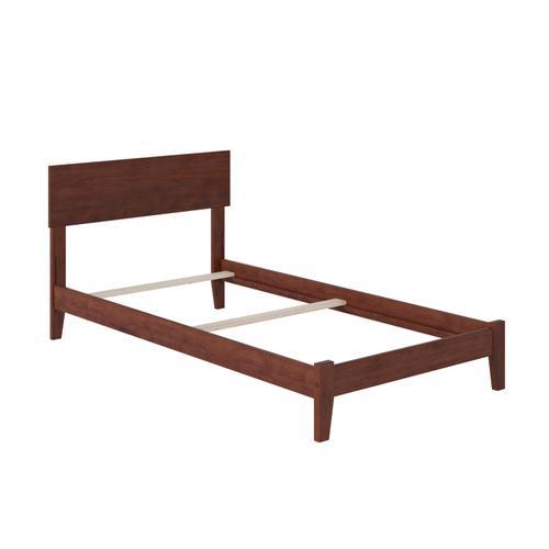 Orlando Twin XL Bed in Walnut