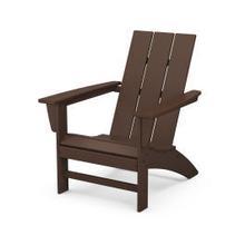 View Product - Modern Adirondack Chair in Mahogany