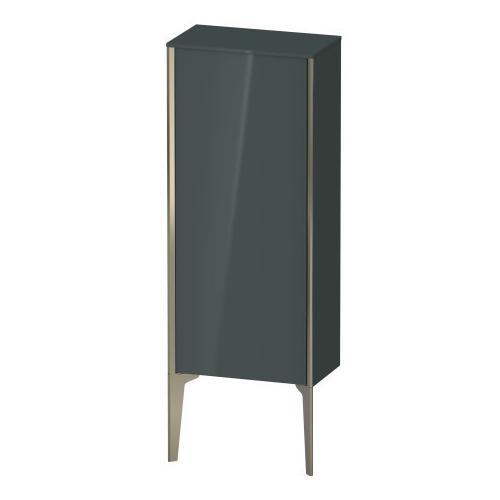 Semi-tall Cabinet Floorstanding, Dolomiti Gray High Gloss (lacquer)