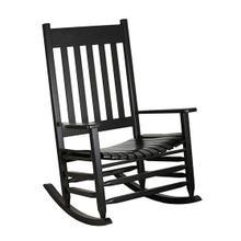 See Details - 1850S Slat Seat Jumbo Rocker in Black Matte