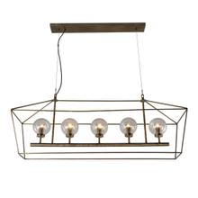 View Product - Boho 5-Light Chandelier
