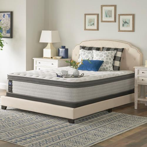 Sealy - Summer Rose - Euro Pillow Top - Medium - Cal King