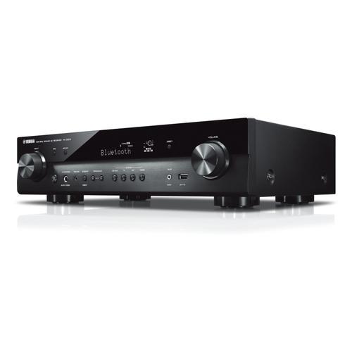 Yamaha - RX-S602 Black Slimline 5.1-Channel AV Receiver with MusicCast