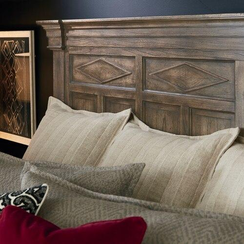 Woodridge Cal King Panel Bed, Footboard Low