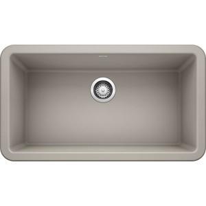 """Ikon® 33"""" Apron Front - Concrete Gray"""