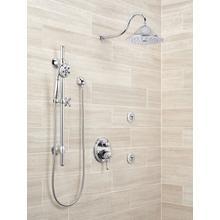 Chrome H 2 Okinetic ® 3-Setting Slide Bar Hand Shower