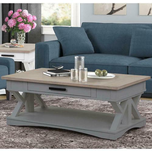 AMERICANA MODERN - DOVE Cocktail Table