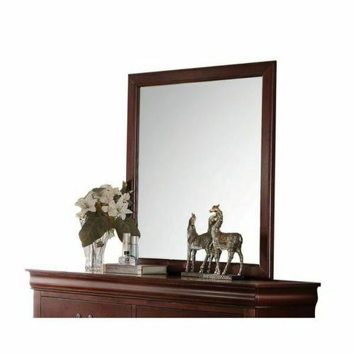 ACME Louis Philippe Mirror - 23754 - Cherry