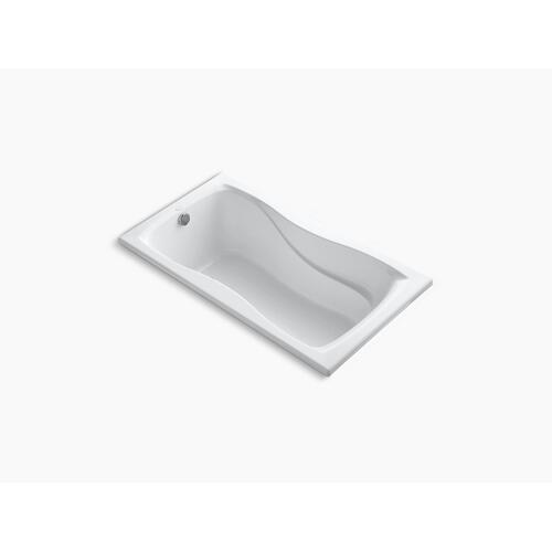 """Biscuit 60"""" X 32"""" Drop-in Bath With Reversible Drain"""