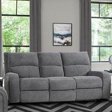 View Product - POLARIS - BIZMARK GREY Power Sofa