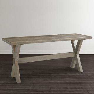 """Crossbuck Maple 54"""" Desk"""