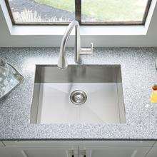 View Product - Edgewater Dual Mount 25x22 Stainless Steel Kitchen Sink  American Standard - Stainless Steel