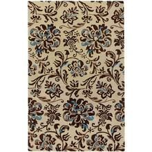 Monte Carlo Cream Chestnut - Rectangle - 5' x 8'