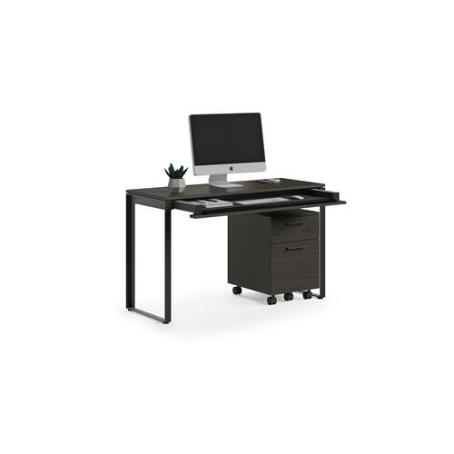 BDI Furniture - Linea 6222 Console Desk in Charcoal Stained Ash