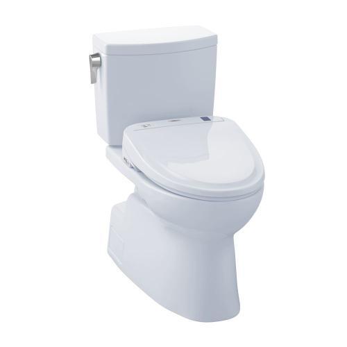 Vespin® II 1G WASHLET®+ S350e Two-Piece Toilet - 1.0 GPF - Cotton