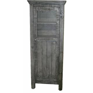 See Details - Charcoal Gray Wire 1 Door Pantry