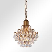 Grace Crystal Chandelier Small w/Bulb