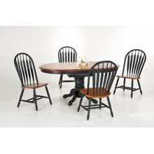 Contour Back Windsor Side Chair