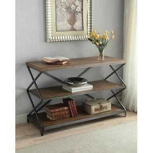 Acme Furniture Inc - ACME Fabio Sofa Table - 80447 - Oak & Antique Black